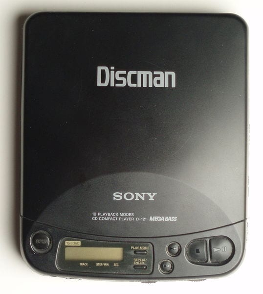 Outdated Gadgets: The Sony Discman