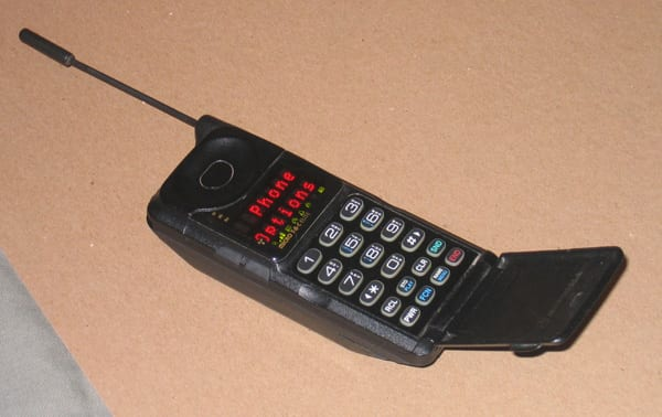 Outdated Gadgets: Motorola phone from 1994