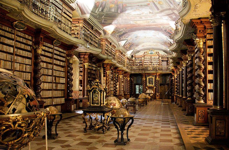 Most Beautiful Libraries: National Library of the Czech Republic