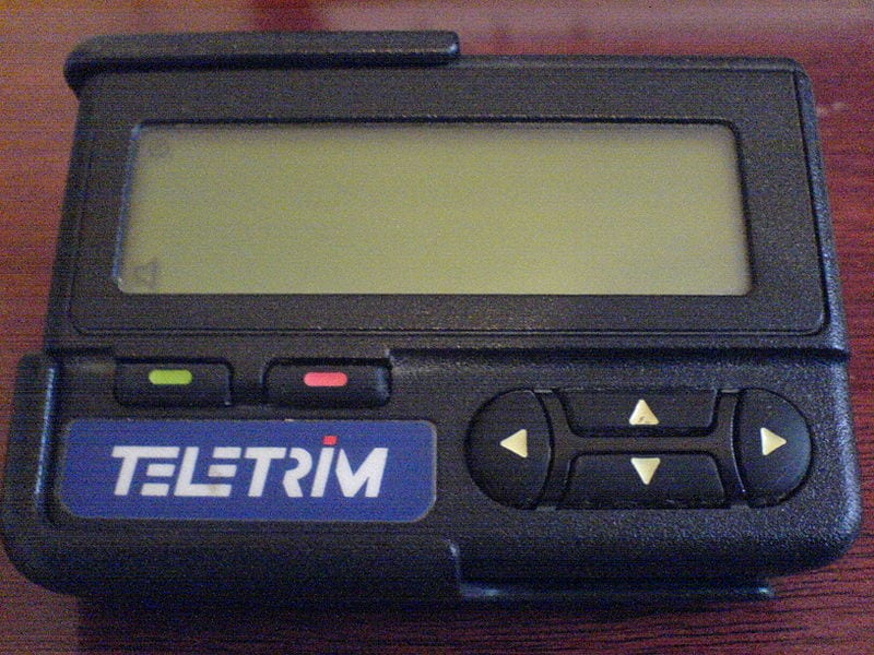 Outdated Gadgets: Motorola Pager