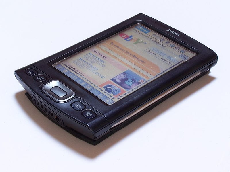 Outdated Gadgets: Palm PDA
