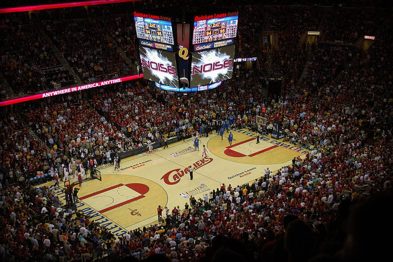 10 NBA Arenas With Largest Capacity - 10 Most Today