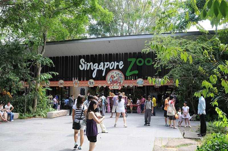 Entrance to the Singapore Zoo