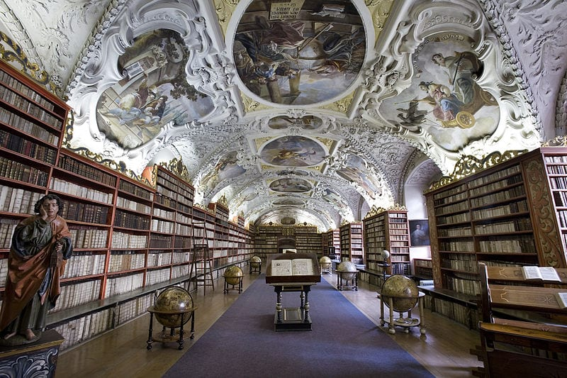 Best Attractions In Prague: Strahov Monastery Library