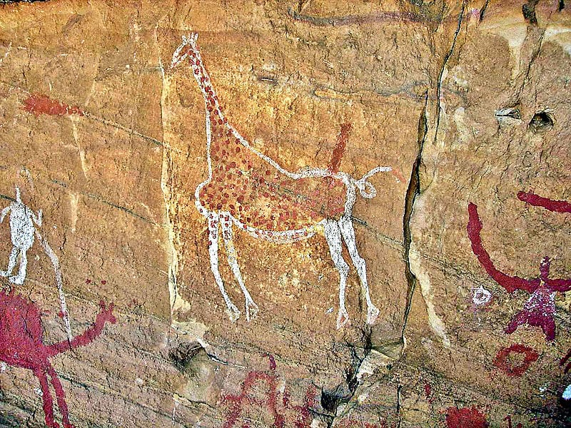 Mesmerizing Prehistoric Cave Paintings: Tadrart Acacus