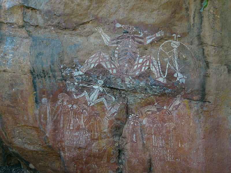 Mesmerizing Prehistoric Cave Paintings: Ubirr, Kakadu National Park