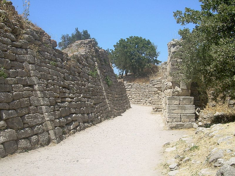 Most Incredible Lost Cities: Troy - the old walls of the city