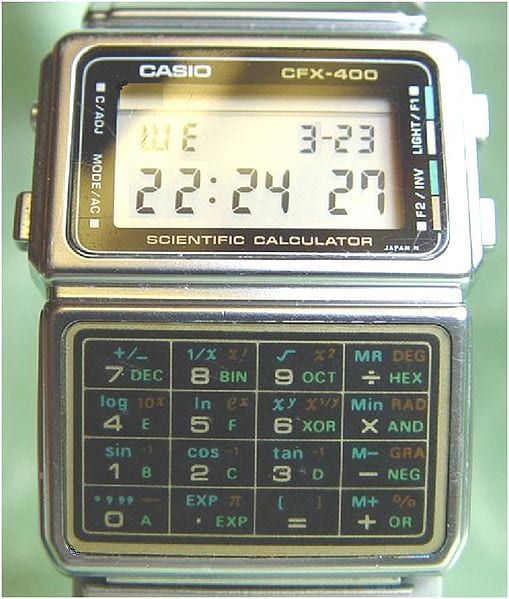 Outdated Gadgets: Casio Calculator Watch