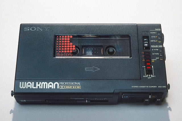 Outdated Gadgets: The Sony Walkman