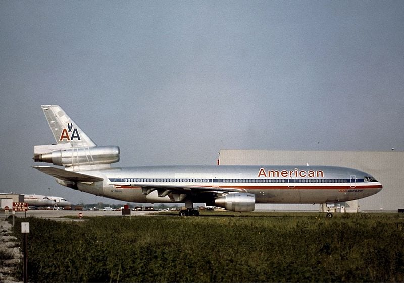 The aircraft that crashed, 5 years prior to the incident, at Chicago O'Hare airport