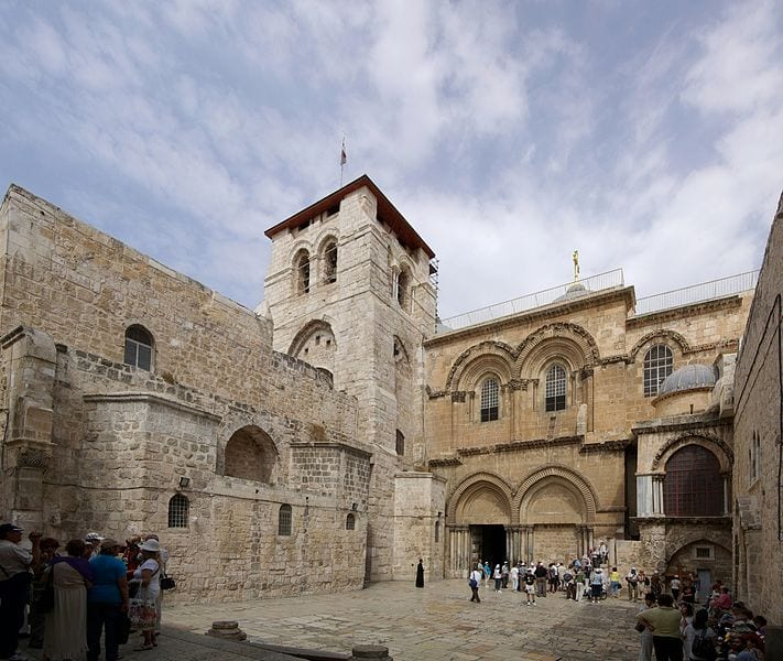 Most Famous Tombs In The World: Church of the Holy Sepulchre