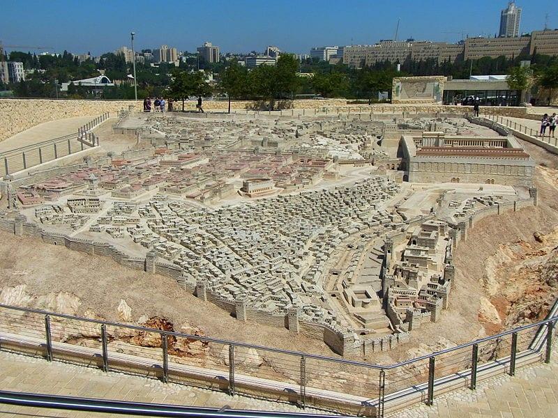 The scale model of Jerusalem in 66 CE, Israel Museum