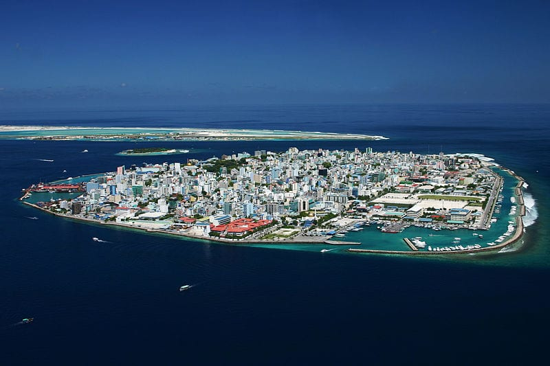 Malé - the capital of the Maldives