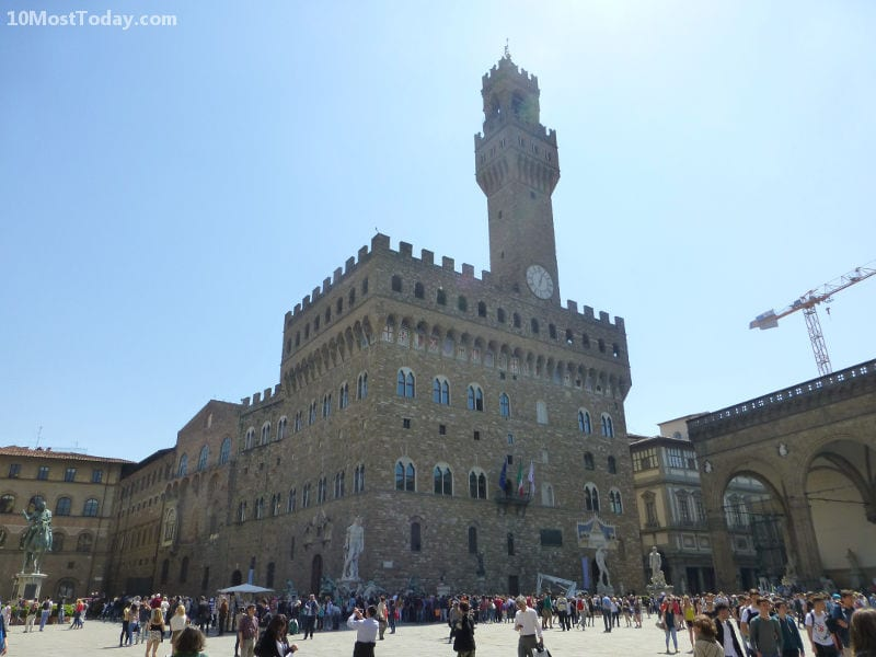 Palazzo Vecchio in Piazza della Signoria, Florence