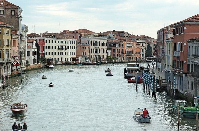 Best Attractions In Venice: The Grand Canal