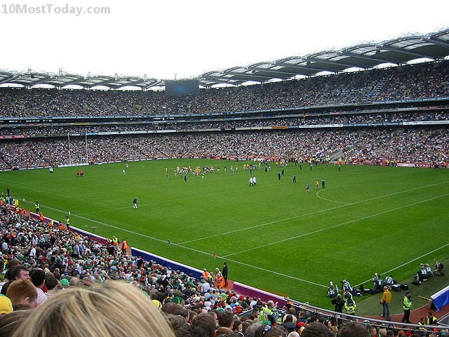 Largest Stadiums In Europe: Croke Park, Dublin