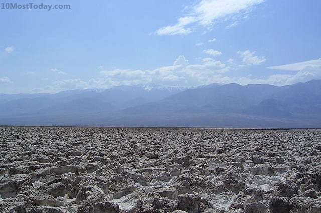 Most Amazing Salt Flats: Devil's Golf Course, Death Valley National Park