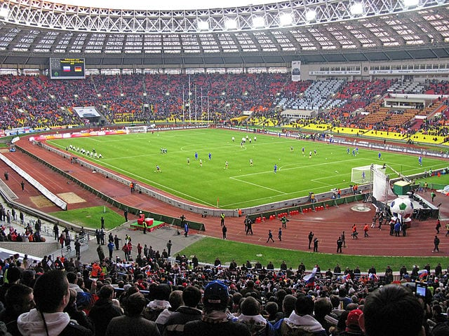 Largest Stadiums In Europe: Luzhniki Stadium, Moscow