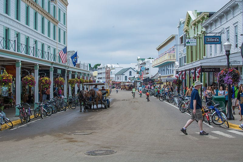 Great Destinations Without Cars: Mackinac Island, Michigan
