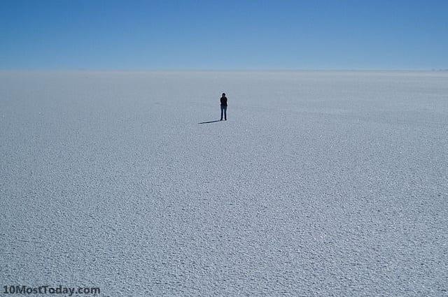 Most Amazing Salt Flats: Salar de Uyuni, Bolivia
