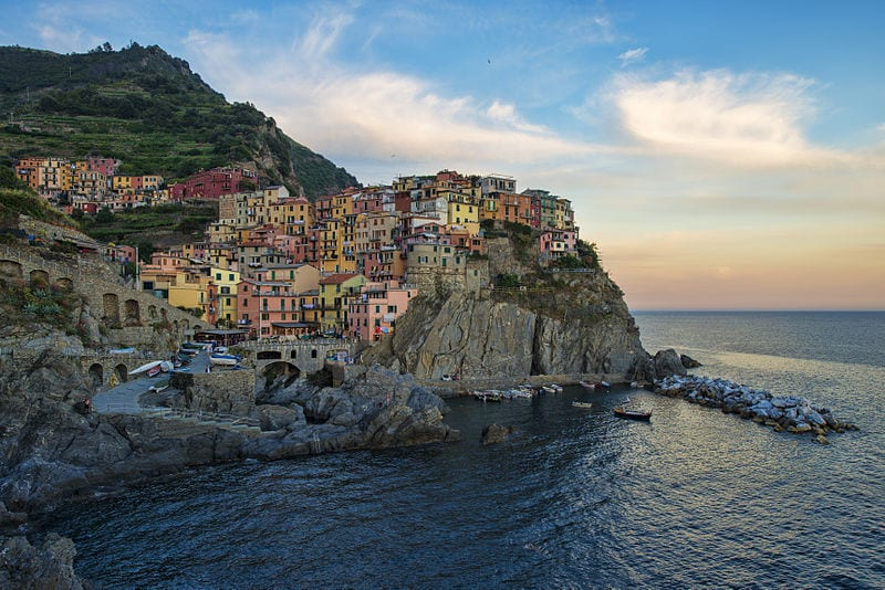Great Destinations Without Cars: Cinque Terre, Italy