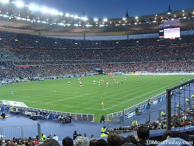 Largest Stadiums In Europe: Stade de France, Paris