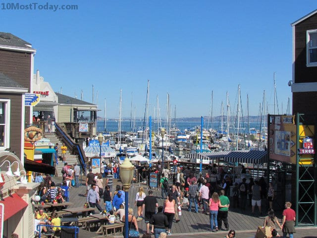 Best Attractions In San Francisco: Pier 39 at Fisherman's Wharf