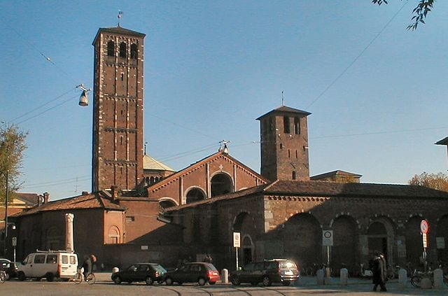 Best Attractions In Milan: Basilica di Sant'Ambrogio