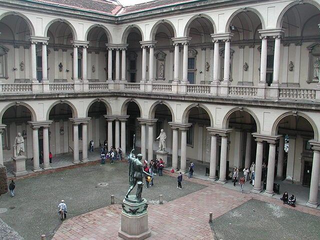 Best Attractions In Milan: Pinacoteca di Brera