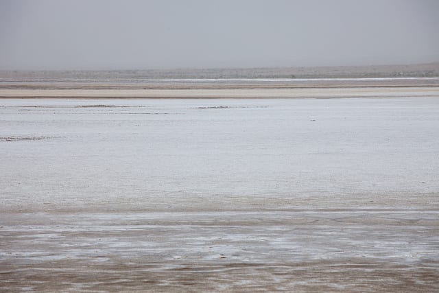 Most Amazing Salt Flats: Namak Lake, Iran