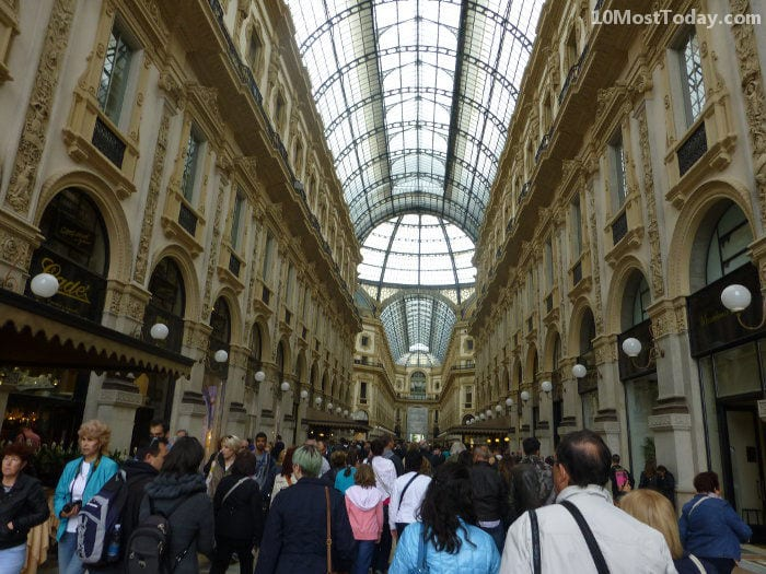 Best Attractions In Milan: Galleria Vittorio Emanuele II