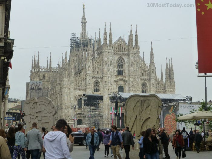 Best Attractions In Milan: Milan Cathedral