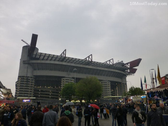 Largest Stadiums In Europe: San Siro, Milan