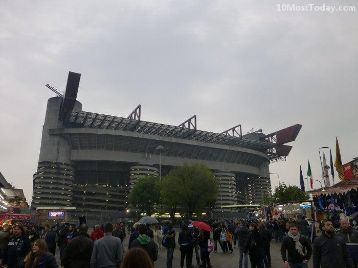 Best Attractions In Milan: San Siro Stadium
