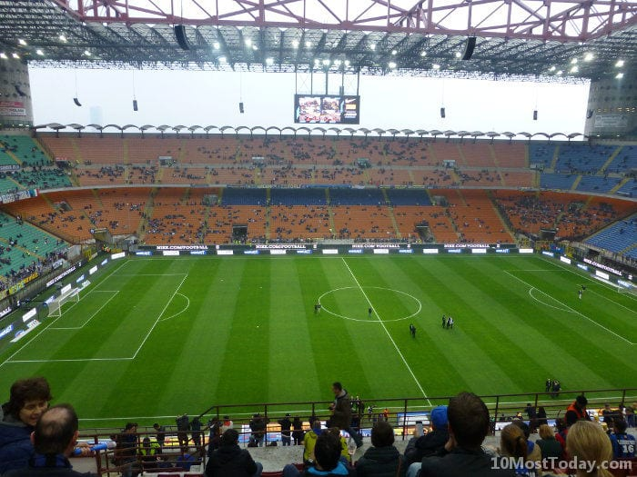 Best Attractions In Milan: San Siro Stadium
