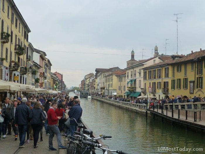 Best Attractions In Milan: Navigli Lombardi