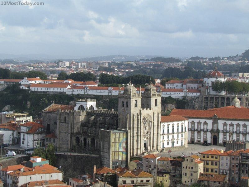 Best Attractions In Porto: Porto Cathedral