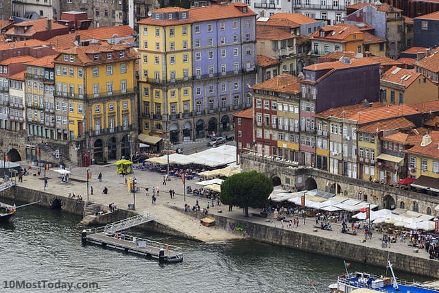 Best Attractions In Porto: Praça da Ribeira
