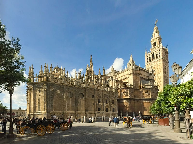Most Amazing Medieval Cathedrals In Europe: Seville Cathedral