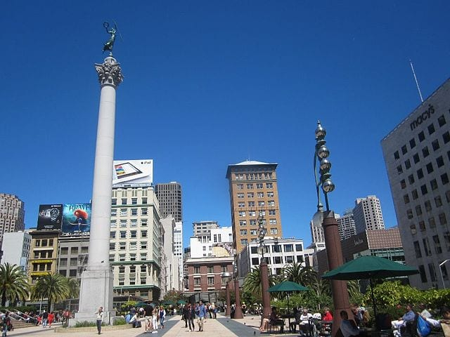 Best Attractions In San Francisco: Union Square