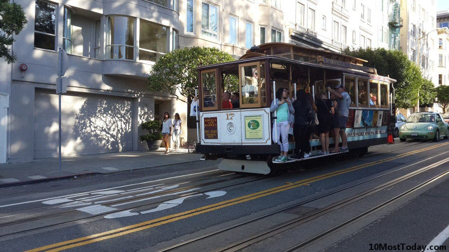Best Attractions In San Francisco: Riding the Cable Cars up and down the steep streets