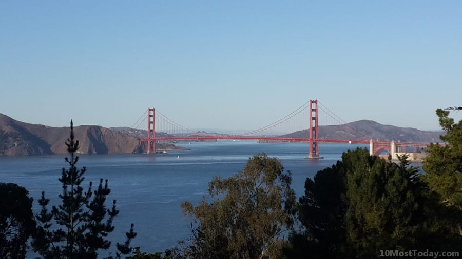 Best Attractions In San Francisco: The Golden Gate Bridge