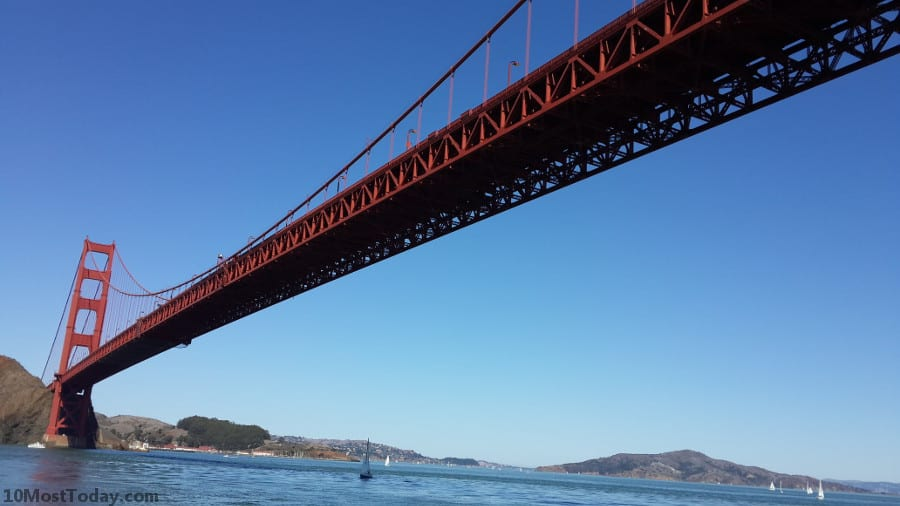 Best Attractions In San Francisco: The Golden Gate Bridge