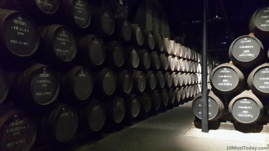 The Port cellars of Graham's Port
