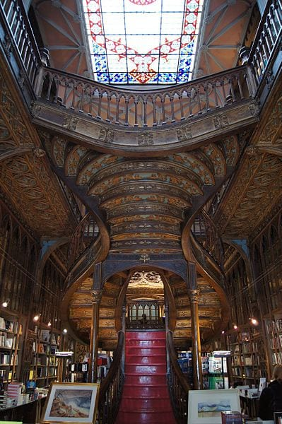 Best Attractions In Porto: Lello bookstore