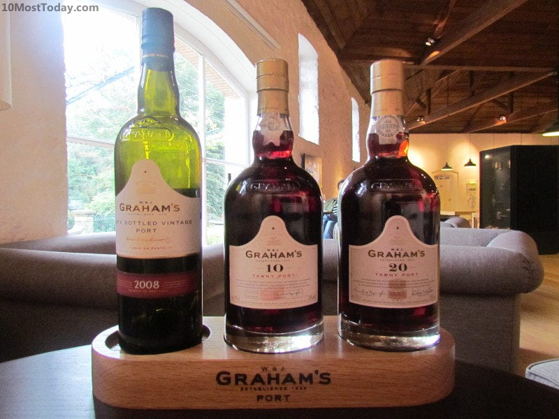 Port tasting at Graham's Port