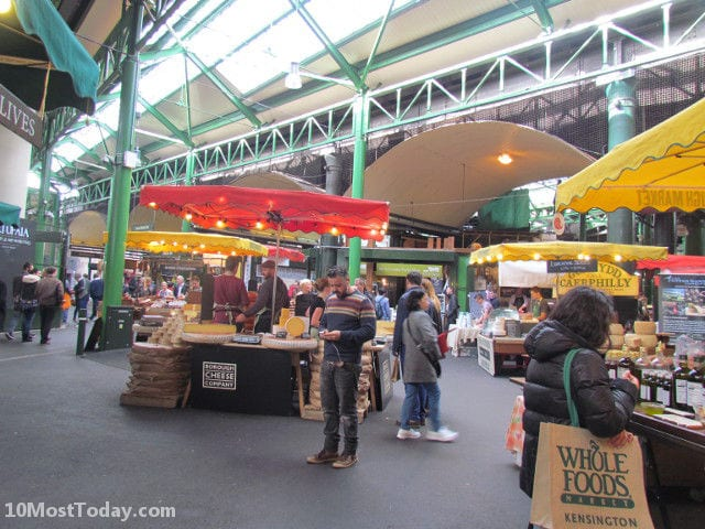 Best Indoor Markets In The World: Borough Market, London