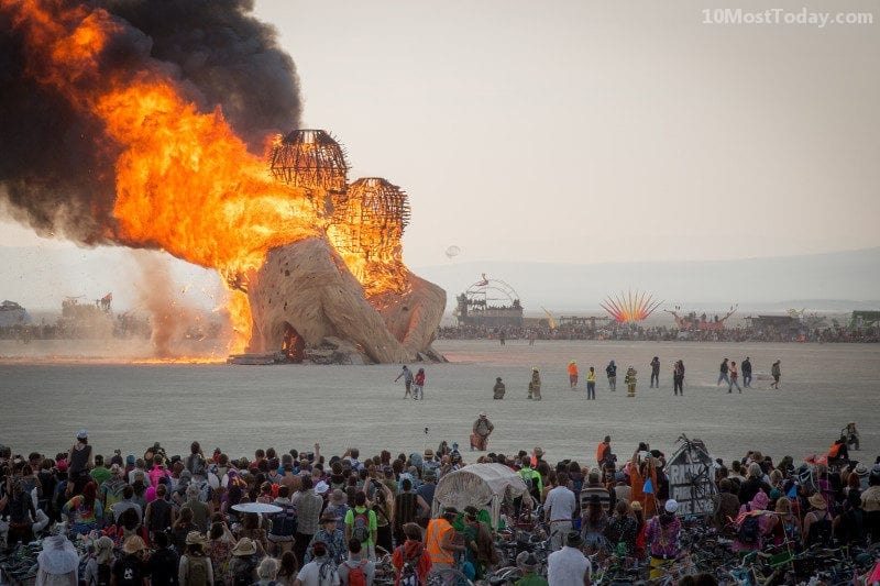 Annual World Festivals Worth The Trip: Burning man