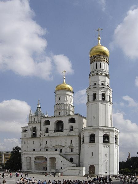 Amazing Bell Towers From Around The World: Ivan the Great Bell Tower, Moscow