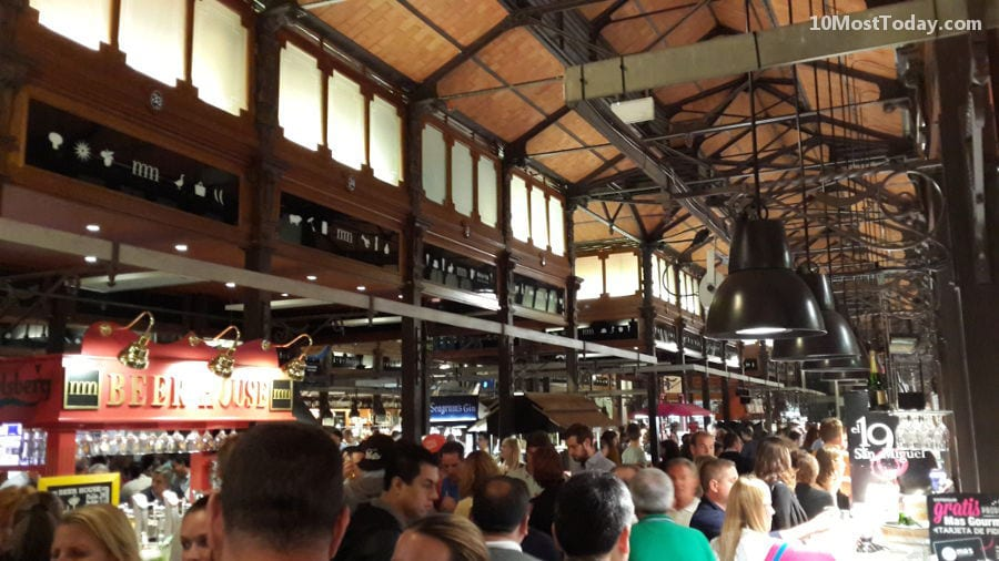 Best Indoor Markets In The World: Mercado de San Miguel, Madrid